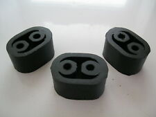 EXHAUST RUBBER MOUNTINGS (set of 3) - RENAULT Espace R21