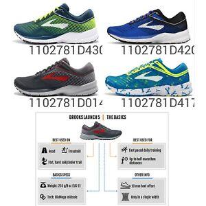 Brooks Launch 5 BioMoGo DNA Mens Marathon Road Running Shoes Pick 1