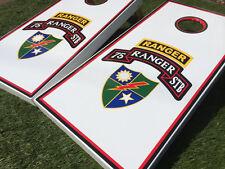 US Army Ranger Custom Cornhole Set