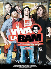 Viva La Bam - The Complete First Season: Uncensored (DVD, 2004, 2-Disc Set)