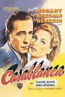 Casablanca - Bogart, Bergman, Henreid - Filmposter 61x91,5 cm