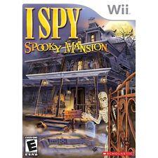 i spy spooky mansion wii (BROKEN DISK)