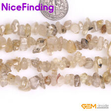 5-8mm Natural Chips Stone Craft Jewelry Making Freeform Nugget Bead Gemstone 34""