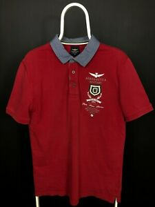 Aeronautica Militare Men's Polo Shirt Size XL