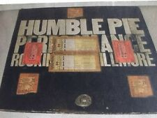 Humble Pie  Rockin The Fillmore Steve Marriott Guitar Pick, Ticket Stub, Program