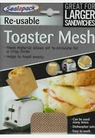 Re-usable Toaster Mesh Sleeve for toasted sandwiches toasties 17 x 14cm
