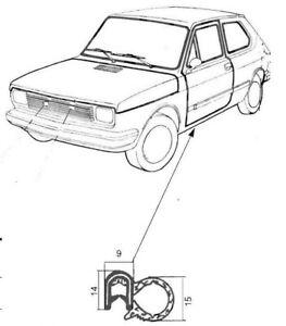 Guarnizione divisore fogli balestra 101cm x 8cm per auto Fiat d/'epoca