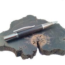 Handmade Irish Bog Oak pen in wooden box
