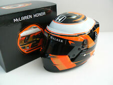 Stoffel Vandoorne 2017 McLaren Bell 1:2 Helmet new in the box