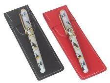 More details for boston terrier dog pen with a choice of red or black pen case perfect gift