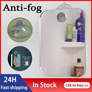 Portable Anti-fog Mirror - Fogless Fog Free Shower Mirror for Bathroom /Travel ✅