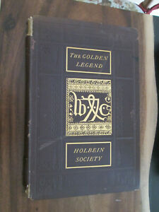 THE GOLDEN LEGEND Holbein Society facsimile edition 1878 Fine Press Printing
