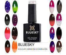 BLUESKY GEL POLISH COLOUR CHANGE CHAMELEON NAIL UV LED SOAK OFF,ANY 2=FILE+WIPE