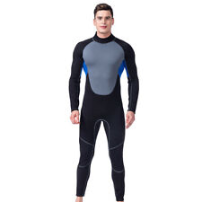 Men 3MM Neoprene Wetsuit Wet Suit Warm Full Body Surf Snorkeling Diving Swimsuit