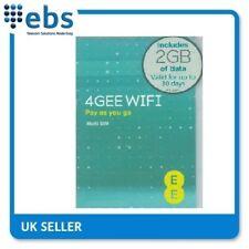 EE 4G Nano Data Sim Card 2GB Data Included (trio sim all sizes included)