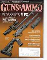Guns & Ammo Handguns Magazine August 2013 Mossberg's Flex, Weatherby's SA-08