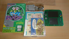 Console Pokemon Green Nintendo 2DS Limited Edition Pack tres bon etat japon