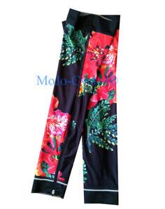 Shebeest Womens Brave Flamboyant Flower Cycling Leg Warmer S, M, L, XL New