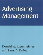 Advertising Management, Kelley, Larry D, Jugenheimer, Donald W, Monroe, Fogarty