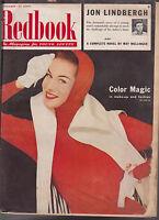 Redbook Magazine September 1954 Jon Lindbergh Fashion Mary Martin