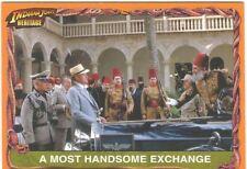 Indiana Jones Heritage White Back Parallel Base Card Ltd 500 #73
