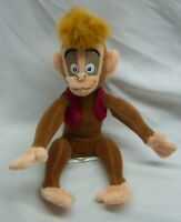 """Disney Store Aladdin NICE SOFT ABU MONKEY 6"""" Plush Stuffed Animal Toy"""
