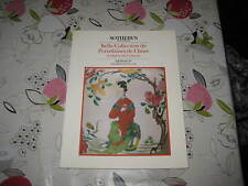 SOTHEBY'S CATALOGUE JUN85 GOOD COLLECTION OF CHINESE PORCELAIN & WORKS OF ART