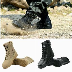 Stivali Militari Stivali da Lavoro Anfibi Militari Trekking Scarpe  Uomo Boots