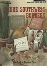 Cross Stitch Pattern - More Southwest Borders - Leisure Arts Leaflet 835