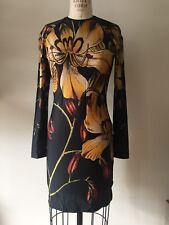 Christopher Kane Black/yellow Floral Dress