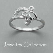 Bow Diamond Fine Rings