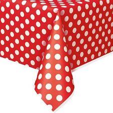 Minnie, Mickey Polka Dots Table Covers Birthday Wedding Baby Party Supply U Pick