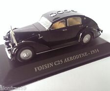 IXO diecast car 1:43 VOISIN C25 AERODYNE 1934 -  UK - CCC007
