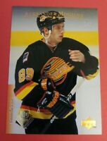 VERY RARE 1/1 - 1995-96 Upper Deck BUYBACK # 188  Alexander Mogilny Canucks