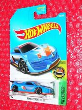 2017 Hot Wheels RENAULT SPORT R.S. 01  #252 HW Exotics  DVB13-D9B0L  L case