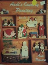 Decorative Tole Painting Pattern Book Ardi'S Country Painting Book 2