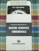Sanderson Aviation / Aerospace Fundamentals SC-6 Flight Computer