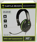 Turtle Beach Ear Force XC1 XBox 360 Live COMMUNICATOR Chat Gaming Headset gaming