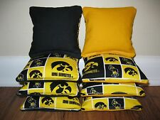 Iowa Hawkeyes Cornhole Bags, Bag Toss, Corn Toss, Corn Hole, Ncaa