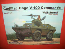 Squadron Signal 5708, Cadillac Gage V-100 COMMANDO  Walk Around Color