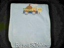 Circo blanket baby boy blue plush Dump Truck soft