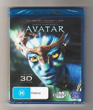 Avatar 3D Blu-ray / Blu-ray / DVD (Limited 3D Edition) - Brand New & Sealed