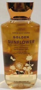 Bath And Body Works 10 oz Golden Sunflower Shower Gel Shea Butter/Vitamin E
