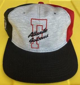 NWOT Vintage 90s Atlanta Falcons Starter Letterman SnapBack Hat Cap NFL