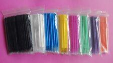 10 Packs 3 Sizes Dental Disposable Micro Applicator Brush Bendable Sticks