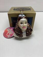 Polonaise Wizard Of Oz Dorothy Ap1403 Glass Ornament Box Tag Kurt Adler