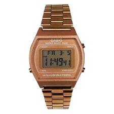 Casio Men's Illuminator Retro Digital Bronze Stainless Steel Watch B640WC-5A