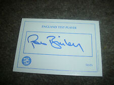 Rob BAILEY  England  Cricket  ORIGINAL Hand Signed Card