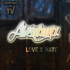 Aventura: Love & Hate CD NEW Spanish
