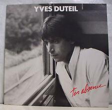 """33 tours YVES DUTEIL Disque Vinyle LP 12"""" TON ABSENCE - DMM 7481251 EX F Rèduit"""